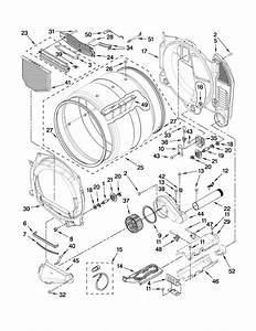 Whirlpool Model Wed9150ww1 Residential Dryer Genuine Parts