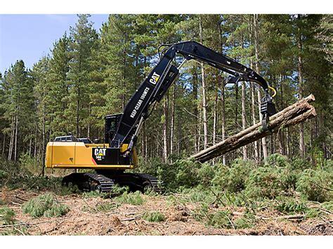 cat  forest machine caterpillar