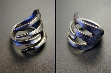 silberschmuck selber machen gabel ring selber basteln tipps schmu