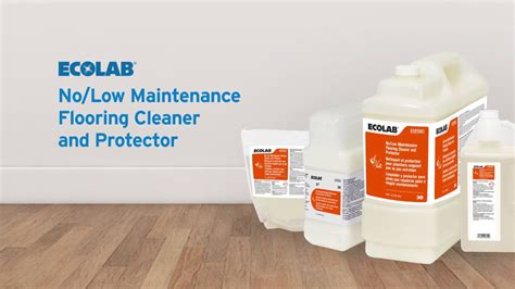 ecolab   maintenance flooring cleaner  protector