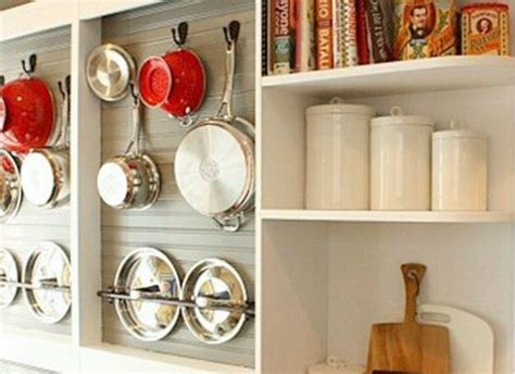 Diy Wall Mounted Pot Rack From A Shallow
