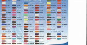 Anc Nails Color Chart Colors Charts There Is 106 Colors 8 Different Pinks