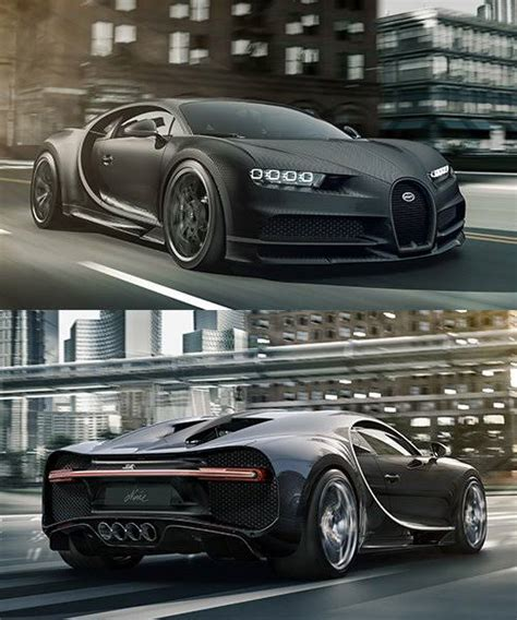 50 things you need to know about the 261mph hypercar. bugatti chiron unveils carbon-clad special edition 'noire' edition - Werk Press