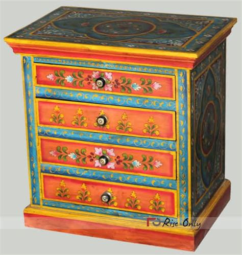 indian painted wooden furniture images