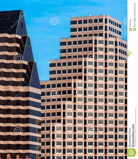 edifici per uffici edifici per uffici contemporanei fotografia stock libera