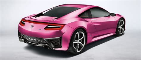acura launches nsx concept colorizer autofluence