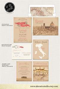 destination wedding invitation tuscany florence italy With wedding invitations online europe