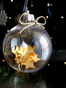 Glass Star Christmas Ornaments