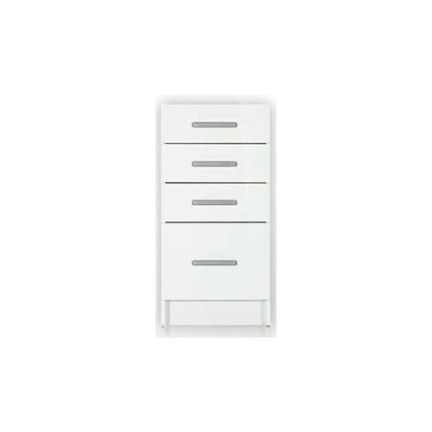 meuble bas cuisine 40 cm largeur meuble bas de cuisine tara 40 cm 4 tiroirs laqué brillant