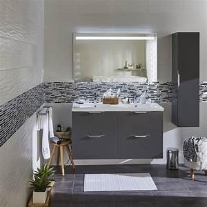 Salle De Bain Le Roy Merlin : meuble vasque gris island leroy merlin ~ Melissatoandfro.com Idées de Décoration