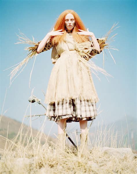 Karen Elson Tim Walker For Vogue May Page