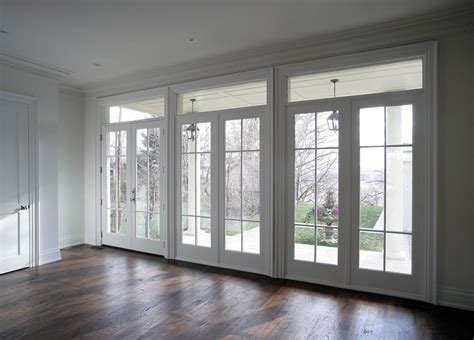 high security double handled french doors  south