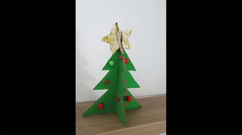 diy christmas tree from cardboard how to make a christmas