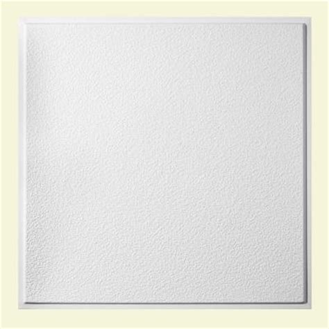 genesis 2 ft x 2 ft stucco pro revealed edge lay in ceiling tile