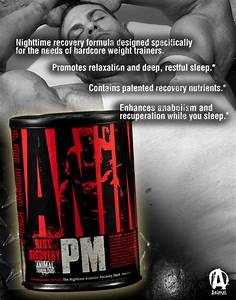 Universal Nutrition ANIMAL PM Night Time Rest & Recovery ...