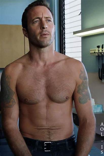 Alex Hawaii Five Loughlin Shirtless Steve Actors