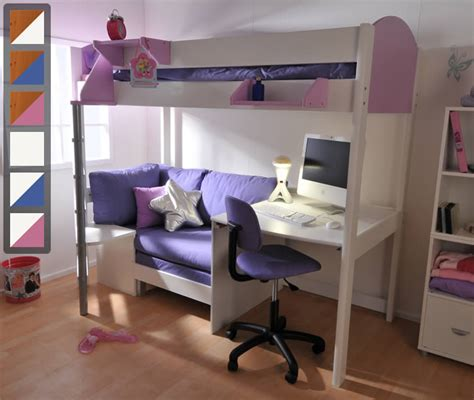 High Sleeper With Sofa And Desk by Stompa High Sleeper Casa 2 Bed Stompa Next Generation