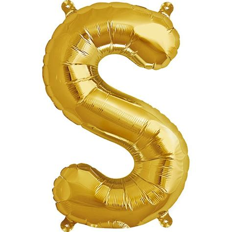 gold letter balloons balloon letters gold 40 cm northstar s 17315