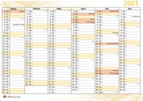 Alle wochen sind im druckbaren leeren juni 2021 kalender sehr deutlich gekennzeichnet. Jahreskalender 2021 Zum Ausdrucken Kostenlos Nrw ...