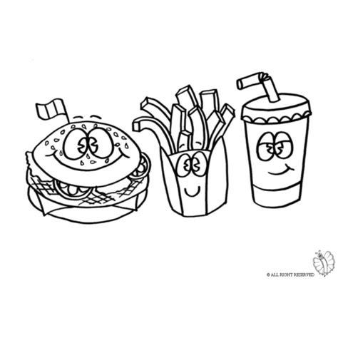disegni facili kawaii cibo disegno di 249 pub da colorare per bambini