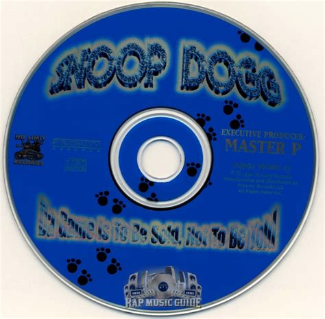 snoop dogg da game    sold    told cd