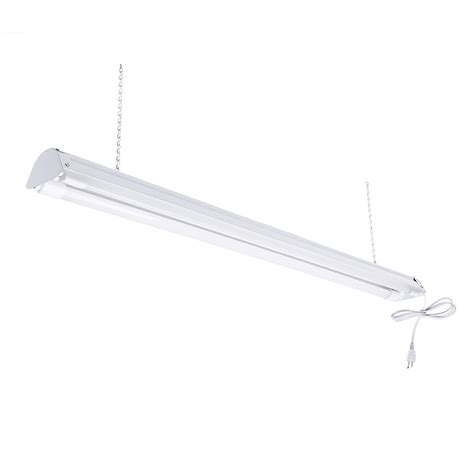 Led Shop Lights by Toggled 2 Light 4 Ft White 5000k Led Shop Light Led