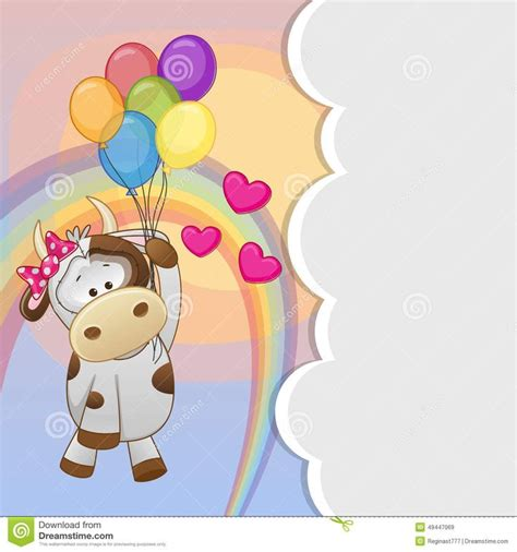 Cow With Balloons Download From Over 49 Million High