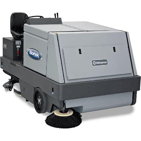 commercial floor scrubber vacuum advance 7765 lp sweeper scrubber rental bortek