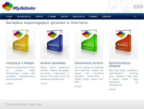 Myadmin Czyli System Wspierania Sprzedaży