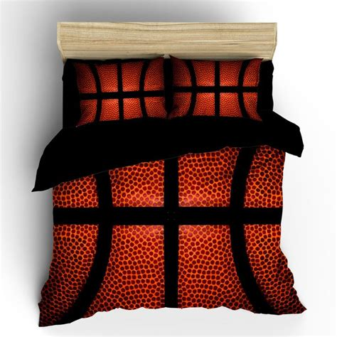 Basketball Bed Set by Basketball Theme Bedding Set Duvet Or Comforter Bedding