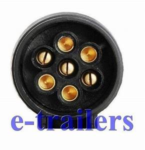 13 Pin Euro Vehicle To 7 Pin 12n Caravan Trailer Towbar