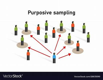 Sampling Purposive Sample Taken Vector