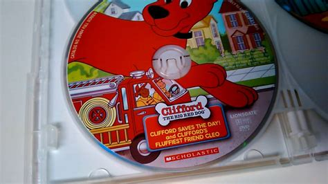 Kiana's The Best Of Clifford The Big Red Dog Dvd!