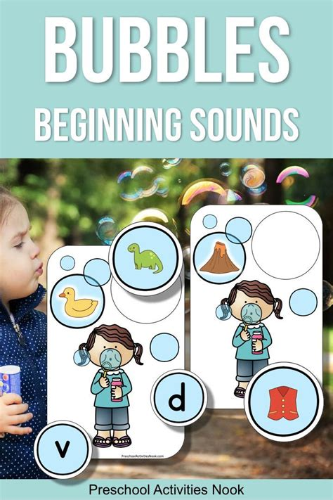 blowing bubbles beginning sounds  images beginning