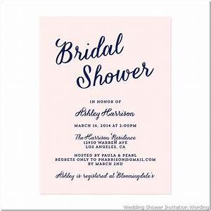 bridal shower invitation wording fotolipcom rich image With wedding shower invite wording
