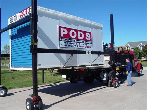 Storage Container Trailer