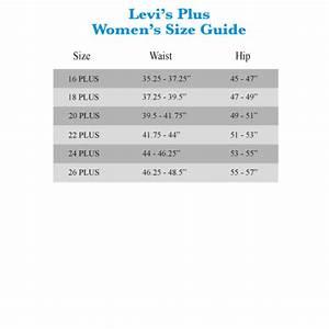 Levis 512 Size Chart Description