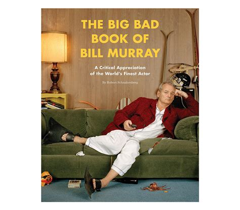 bill murray fan club the big bad book of bill murray funny gifts for men
