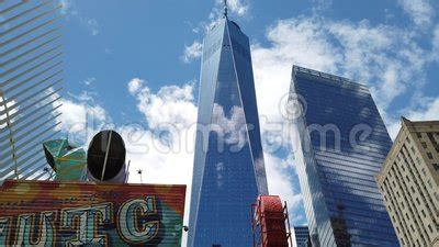 New York, NY, USA. New Skyscrapers Under Construction ...
