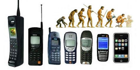 history of phones the history of cell phones an infographic digital edge
