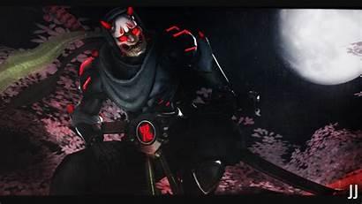 Oni Genji Mask Wallpapers Samurai Demon Sfm