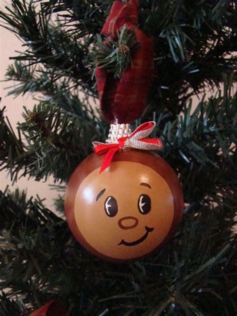 ohio state buckeye christmas ornament