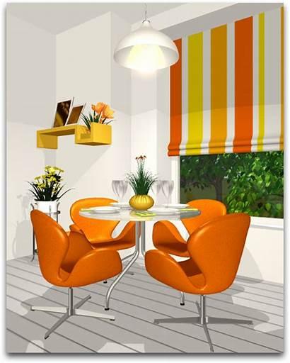 Colors Analogous Schemes Interior Orange Harmony Yellow