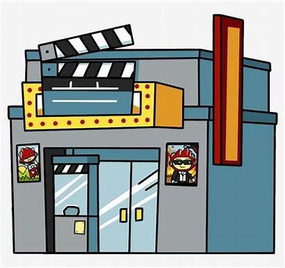 Theater Cartoon Movie Cinema Theatre Transparent Clipart