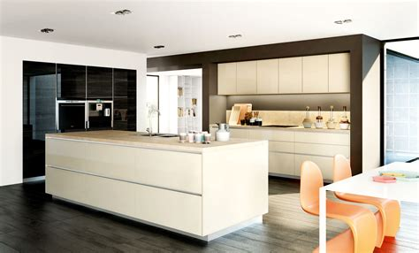 modele cuisine avec ilot central table cuisine moderne sur mesure meubles de cuisines cuisines esprit design caséo vente et pose