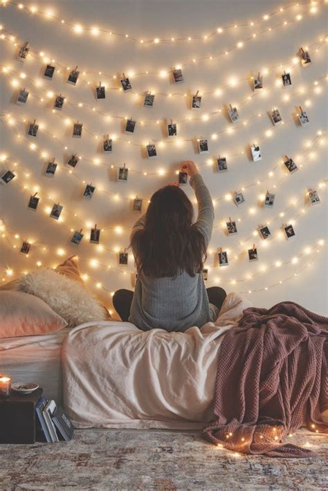 25 best ideas about string lights bedroom on pinterest