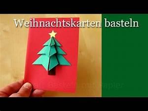 Weihnachtskarten Selber Basteln Anleitung : weihnachtskarten basteln basteln weihnachten diy weihnachtsgeschenke selber basteln ideen 3d ~ Yasmunasinghe.com Haus und Dekorationen