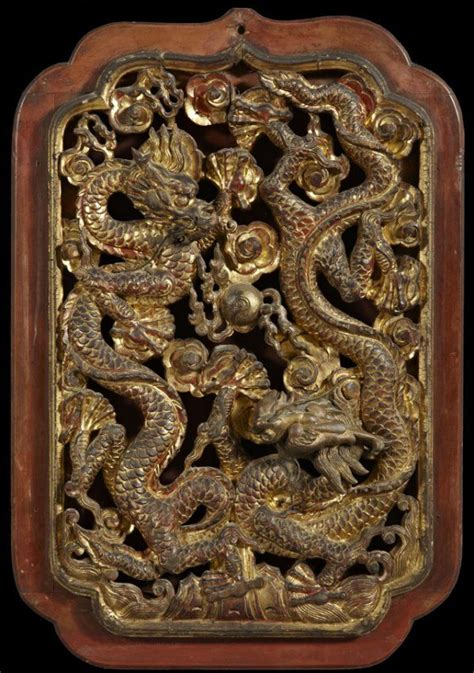 chinese carved wooden panels chinese relief carved