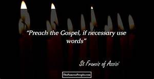 St Francis of A... Father Assisi Quotes