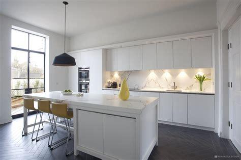 contemporary georgian kitchen  kitchens newcastle